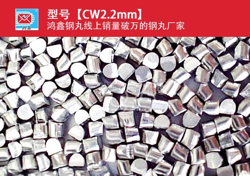 高锰钢丝切丸CW2.2mm
