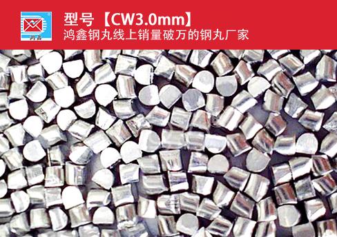 高锰钢丝切丸CW3.0mm