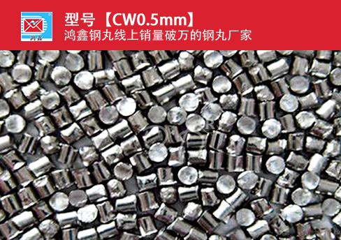 高碳钢丝切丸CW0.5mm
