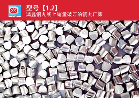 高锰钢丝切丸CW1.2mm