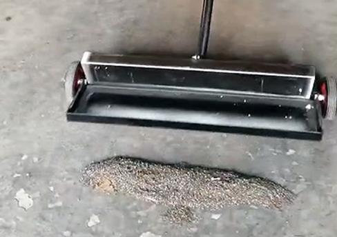 拖ba式钢丸回收机
